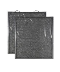 2 Pack Aluminum Mesh Grease Range Hood Filter Replacements