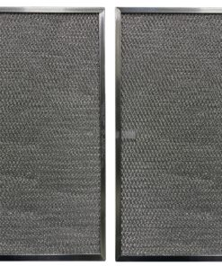 (2 Pack) Aluminum Mesh Range Hood Filter Replacements